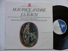 MAURICE ANDRE BACH Suite en si mineur Concerto pour violon trmpoette 140  70511