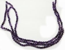 Amethyst 6mm Round Drilled Beads.Make Your Own Jewelry100 Beads FREE SHIPPING