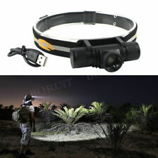 BORUiT Zoomable 10000Lm XM-L2 LED  4Modes Headlamp Hunting Camping Headlight USB