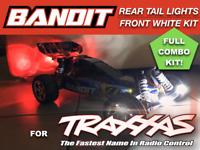 Front Bumper Power LED Light Bar Lamp Mount for 1/10 Traxxas BANDIT RC Car US