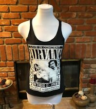 NIRVANA CONCERT TEE READING October 31, 1991 Seattle TANK TOPTEE SIZE S Vintage