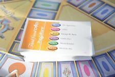 Trivial Pursuit DVD Pop Culture 2 replacement game pieces - qty 100 cards