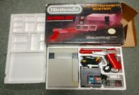 NINTENDO NES ACTION SET COMPLETE IN BOX CIB LOOKS GREAT & NEW 72 PIN CONNECTOR