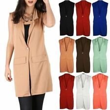 Unbranded Polyester Button Waistcoats for Women