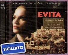 "THE MOTION PICTURE MUSIC SOUNDTRACK "" EVITA "" 2 CD SIGILLATO 1996 PRIMA EDIZIONE"