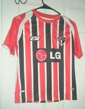 Sao Paolo Spfc Soccer Reebok Futbol Soccer Jersey #10 Boys Medium Used