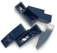 Lego 5 New Dark Blue Slope Curved 3 x 1 No Studs Sloped Pieces