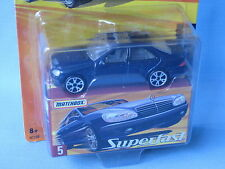 Matchbox Superfast Mercedes-Benz S500 Saloon Blue Body Toy Model Car75mm