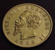 REGNO 20 LIRE ORO MARENGO 1862 zecca di Torino