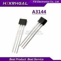 10PCS A3144E A3144 TO92 TO-92 3144 Hall Effect Sensor Transistor original
