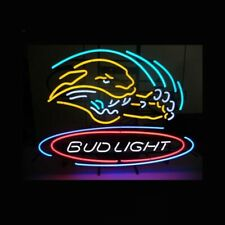 "New Jacksonville Jaguars Bud Logo Beer Neon Light Sign 24""x20"""