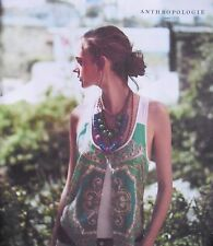 June 2012 ANTHROPOLOGIE Women's Fashion Catalog