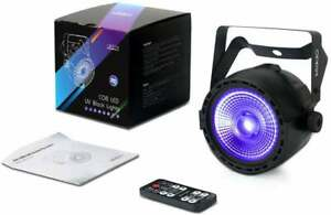 OPPSK - 30W Black Light with COB UV LED Stage Lights by IR Remote DMX Control