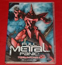 Full Metal Panic  Mission 6 (DVD, 2004)  DVD Brand New Factory Sealed