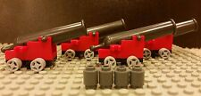 Lego NEW Set/4 COMPLETE Cannons-w/ Wheels And Base-For Imperial Flagship 10210
