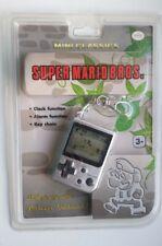Nintendo Mini Classics Super Mario Bros. LCD Keychain NEW SEALED