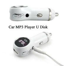 Car Auto Truck MP3 Audio Player Card U Disk Charger Cigarette Lighter type MP3