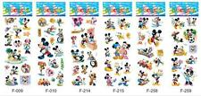 5 x MICKEY MOUSE  Sticker strips -  Party Bag Fillers Birthday party favours