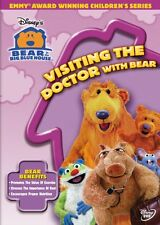 Bear In The Big Blue House Visiting Doctor With DVD Kids Children Toddler Music