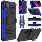 For T-Mobile REVVL 4/REVVL 4 Plus/REVVL 5G Phone Case Holster Belt Stand Cover