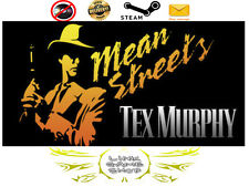 Tex Murphy: Mean Streets PC & Mac Digital STEAM KEY - Region Free