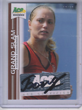 2013 Ace Authentic Grand Slam Brown #BAKB1 Kateryna Bondarenko Autograph /50