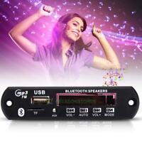 12V LED Bluetooth Stereo MP3 Player Decoder Board SD/USB/AUX/FM + Remote Control