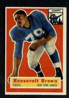 1956 Topps #41 Roosevelt Brown EXMT/EXMT+ RC Rookie NY Giants A40