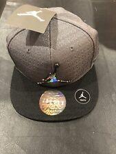 Brand NEW Nike Air Jordan Youth Boys Snapback Hat, Black /  Dark Grey Jordan