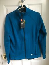 Under Armour Womens Teal Blue Full Zip Storm1 Jacket Size Small - NWT
