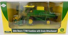1:50 ATHEARN *JOHN DEERE* Model 7700 Combine w/Grain Head *DIECAST* NIB!