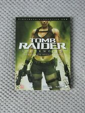 Tomb Raider Underworld Complete Official Strategy Guide - Excellent condition !