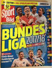 "Sport Bild Sonderheft - ""Bundesliga 2017/18"" - 2017 - !NEUWERTIG!"