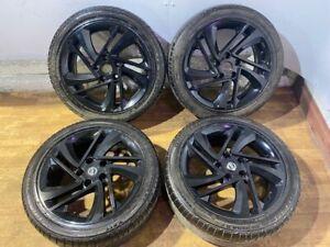 """nissan 18"""" alloy wheels 5x114 Pcd Pulsar Quasqai Juke X Trail"""
