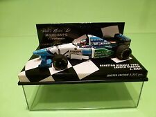 MINICHAMPS 1:43 - BENETTON RENAULT 1996   J.ALESI  - LAUNCH VERSION   -  NMIB