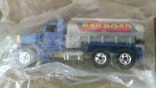 Vintage Hot Wheels Workhorses Peterbuilt Tanker (RARE blue in baggie) 1979