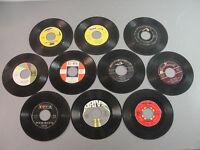 🎙️ RECORD 45 RPM VINYL 50-70's CLASSIC EARLY SOFT ROCK POP DOO-WOP SOUL LOT 10