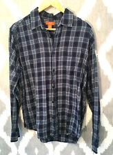 Bundle Joe Fresh Next Men's Long Sleeved Shirt Collared Blue Black Size M - 643