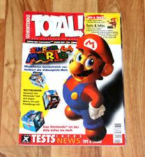 1996 Nintendo Magazine Super Mario 64 Kirby's Block Ball zelda 3 Yoshi's Island