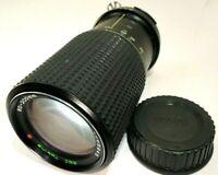 Tokina 80-200mm f4.5 Ai-s Lens manual focus telephoto for FM FM10 cameras