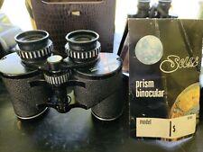 **Rare**Selsi Binoculars 8x40 wide angle 10°