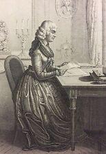 Mme Rolland 1754-1793 Jeanne Marie Manon Philippon Révolution Française Girondin