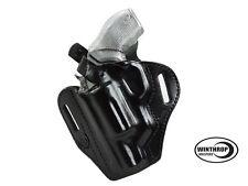 Polymer Taurus Judge PD OWB Thumb-Break Shield Holster LEFT Hand Black