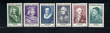 FRANCE 1954 semi-postals (Scott B294-299) VF MH