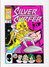 """Silver Surfer  No.1  :: 1987 ::  :: """"Space Is Infinite!"""" ::"""