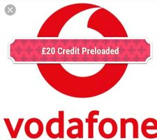 Vodafone(PAYG) Sim Card Preloaded UK 1000 Minutes + Unlimted Texts+12GB Data✔