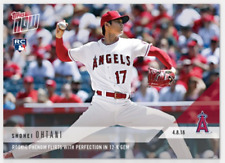 2018 TOPPS NOW SHOHEI OHTANI RC PHENOM Angels Flirts With Perfection in 12-K GEM