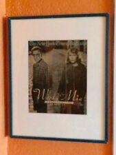 Woody Allen, Mia Farrow, New York Times Magazine 1991 Framed, Like-new/Pristine