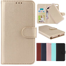Removable Magnetic Leather Detachable Wallet Magnet Case Cover For iPhone 7 8 X