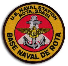 US Navy NAVAL STATION ROTA SPAIN 6th Fleet Naval De Rota